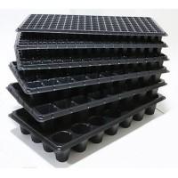 供应加厚穴盘育苗盘 32孔黑色育苗穴盘价格 西安穴盘生产厂家